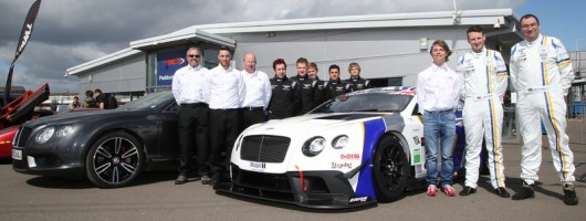Bentley GT3 customer team reveals racer. Image by Bentley.