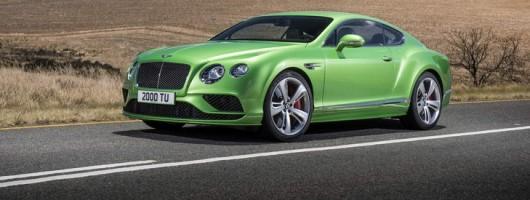Bentley Continental GT range overhauled. Image by Bentley.