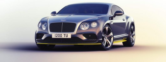 Bentley adds jet-look to Continental. Image by Bentley.