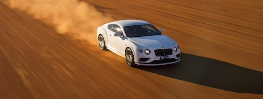 Bentley takes Continental GT to a mad V-Max. Image by Bentley.
