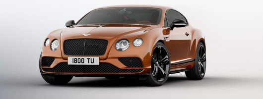Bentley's Conti GT Speed gets more power. Image by Bentley.