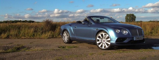 Road test: Bentley Continental GTC V8. Image by Matt Robinson.