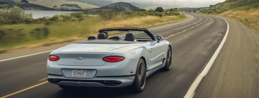 First drive: Bentley Continental GTC V8. Image by Bentley.