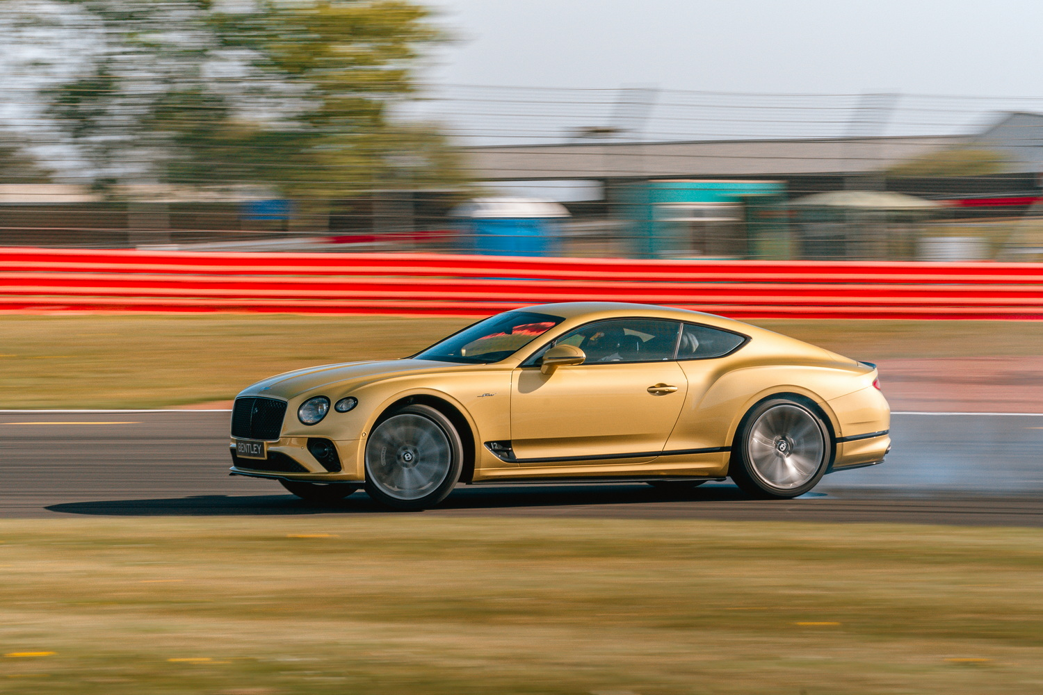 First drive: Bentley Continental GT Speed. Image by Bentley.