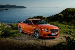 2014 Bentley Continental GT Speed. Image by Bentley.