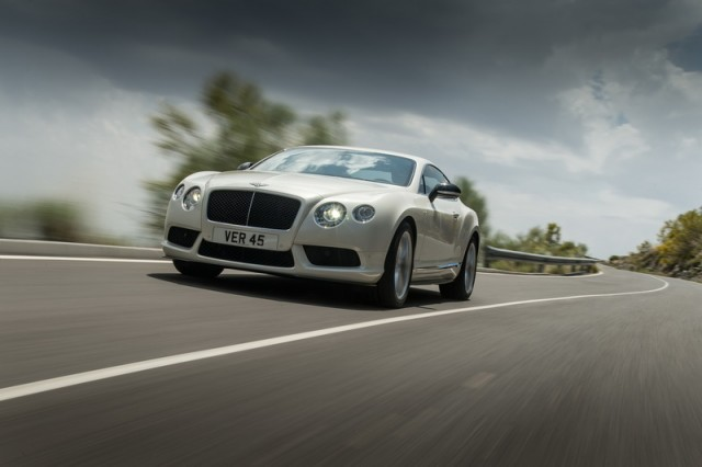 Driven: Bentley Continental GT V8 S. Image by Bentley.
