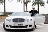 2011 Bentley Continental GT with Jeffery Deaver. Image by Bentley.