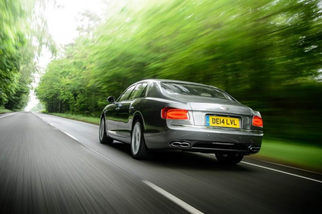 Driven: Bentley Flying Spur V8. Image by Bentley.