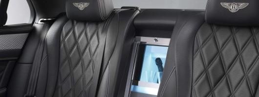 More luxury in Bentley Flying Spur by Mulliner. Image by Bentley.