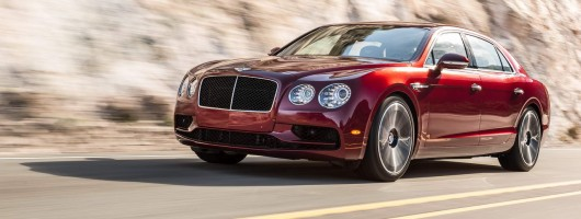 Bentley beefs up Flying Spur with V8 S. Image by Bentley.