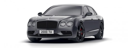 Bentley goes dark for Flying Spur V8 S Black Edition. Image by Bentley.