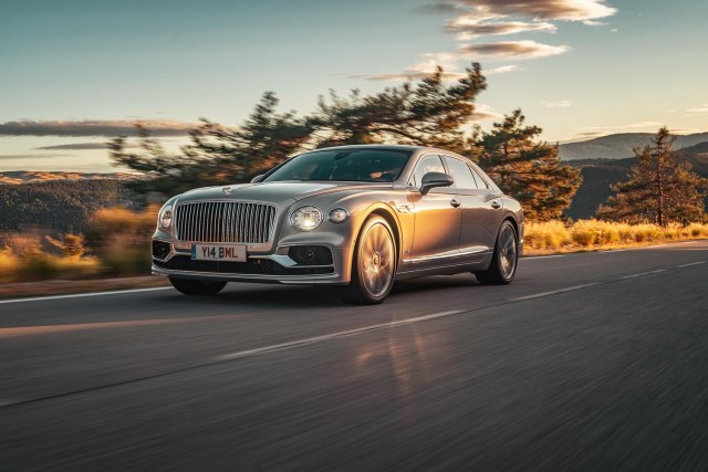 First drive: Bentley Flying Spur. Image by Bentley.