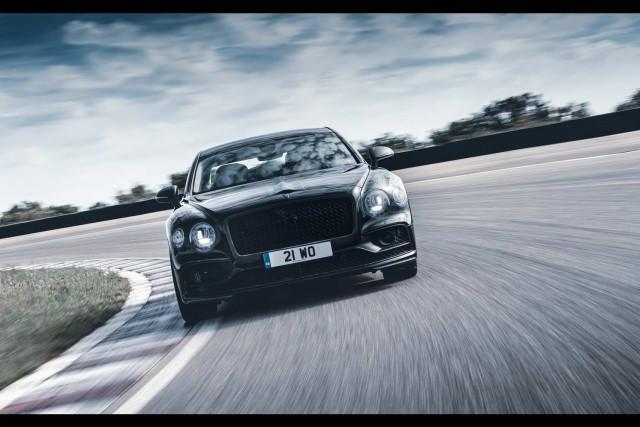 Bentley's Flying Spur returns! Image by Bentley.