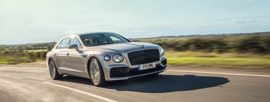 First UK drive: Bentley Flying Spur. Image by Bentley.