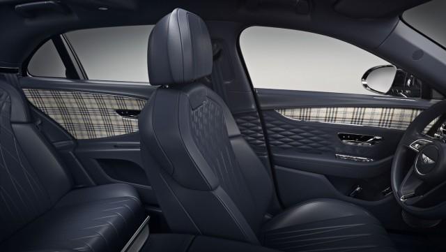 Bentley dons the tweed (door cards). Image by Bentley.