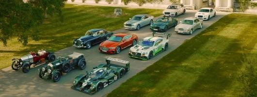 Bentley celebrates centenary in Goodwood. Image by Bentley.