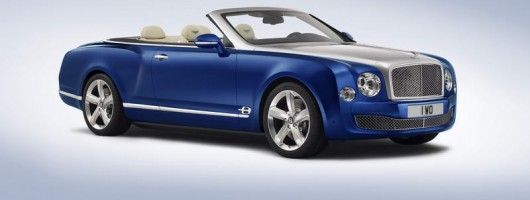 Grand Convertible tops the show for Bentley. Image by Bentley.