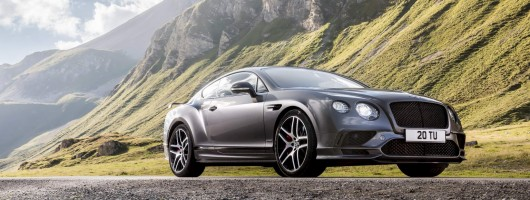 Bentley unleashes fastest car ever: the Supersports. Image by Bentley.