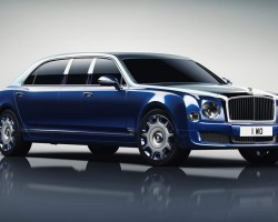 2016 Bentley Mulsanne Grand Limousine by Mulliner. Image by Bentley.