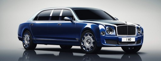 Mulsanne Grand Limousine stretches the point. Image by Bentley.