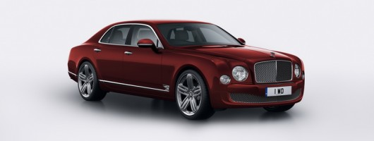 Bentley flies the flag with Mulsanne 95. Image by Bentley.