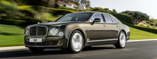 Mulsanne Speeded up by Bentley. Image by Bentley.