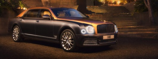 Updated Bentley Mulsanne packs 1,100Nm punch. Image by Bentley.