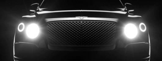Bentley teases new SUV in video. Image by Bentley.