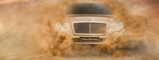 Bentley SUV name revealed. Image by Bentley.