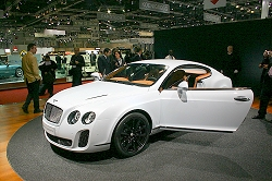 2009 Bentley Continental Supersports. Image by Kyle Fortune.