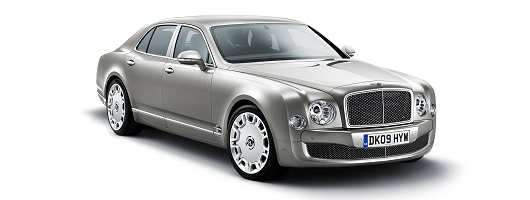 Bentley Mulsanne revealed. Image by Bentley.