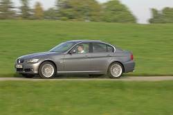 2008 BMW 3 Series saloon. Image by Richard Newton.