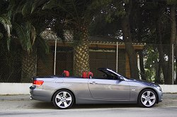 2007 BMW 3 Series Convertible. Image by Shane O' Donoghue.