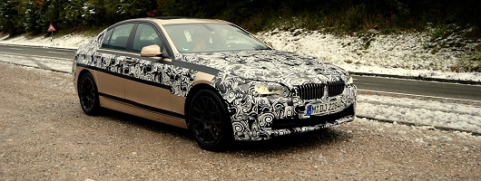 Next BMW 5 Series spotted. Image by Kyle Fortune.