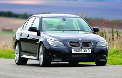 BMW I Saloon I MSport Touring Car Reviews By Car - 2006 bmw 540i
