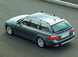2004 BMW 5-series Touring. Image by BMW.