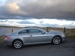 2005 BMW 630i review. Image by James Jenkins.