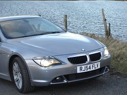 2005 BMW 630i. Image by James Jenkins.