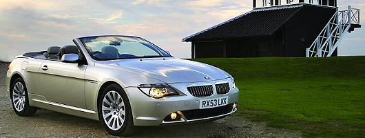 2005 BMW 650i Sport Convertible review. Image by BMW.
