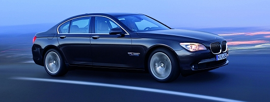BMW 7 Series official details. Image by BMW.
