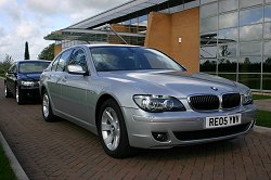2005 Facelifted BMW 7 Series review. Image by Shane O' Donoghue.