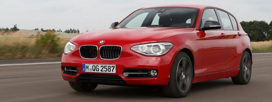 First drive: BMW 1 Series three-cylinder prototype. Image by BMW.