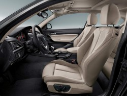 2015 BMW 1 Series interior. Image by BMW.