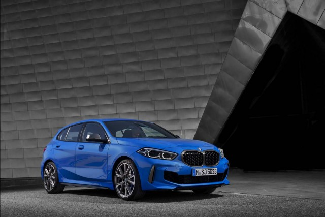 M135i model tops new BMW 1 Series range. Image by BMW.