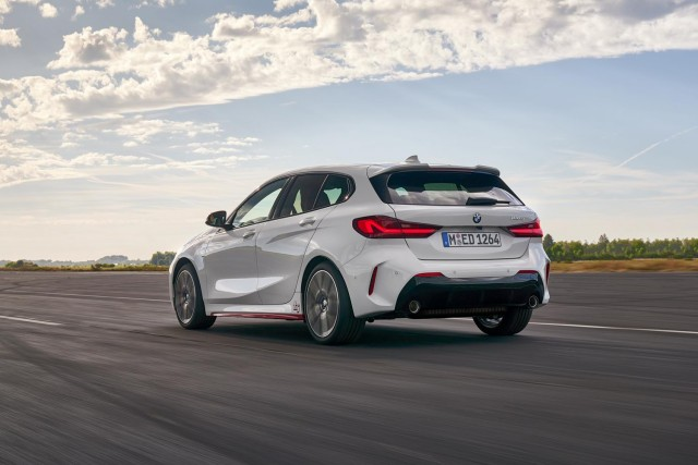 BMW targets Golf GTI with 128ti. Image by BMW AG.