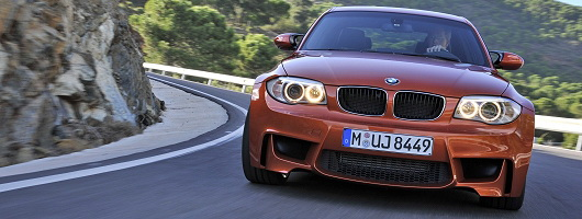 BMW 1 Series M Coupé officially unveiled. Image by BMW.