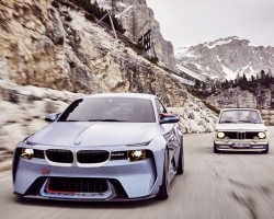 BMW 2002 Turbo lives again with Hommage. Image by BMW.