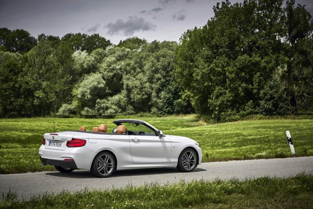 First drive: BMW 220d M Sport Convertible. Image by BMW.