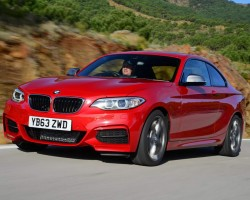 BMW 2 Series to the power of three. Image by BMW.