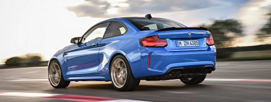 BMW goes full 'brilliant'; it's the M2 CS. Image by BMW AG.